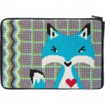 stitch & zip needlepoint kit