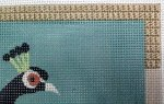 needlepoint cashmere stitch for a border