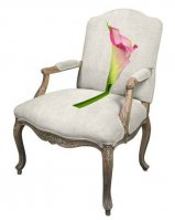 custom needlepoint chair upholstery