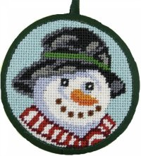 needlepoint christmas ornament kit