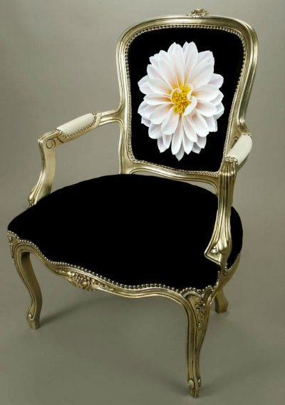custom needlepoint chair