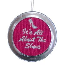 needlepoint ornament