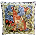 stitchery william morris hare needlepoint kit