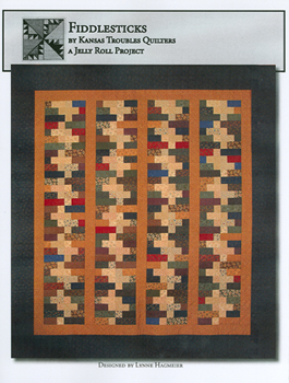 Fiddlesticks Kansas Troubles Quilters Quilt Fabric Pattern