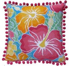hibiscus needlepoint kit