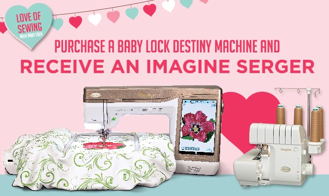 Baby Lock Destiny + Imagine