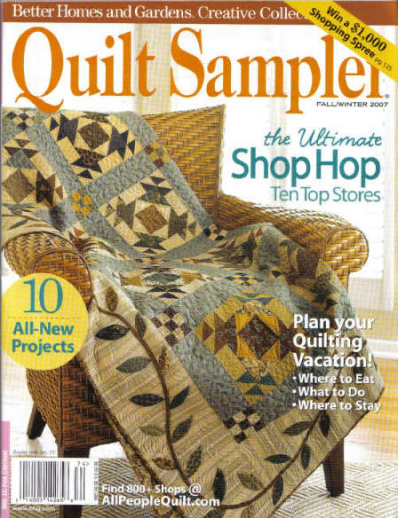 machine quilter magazine
