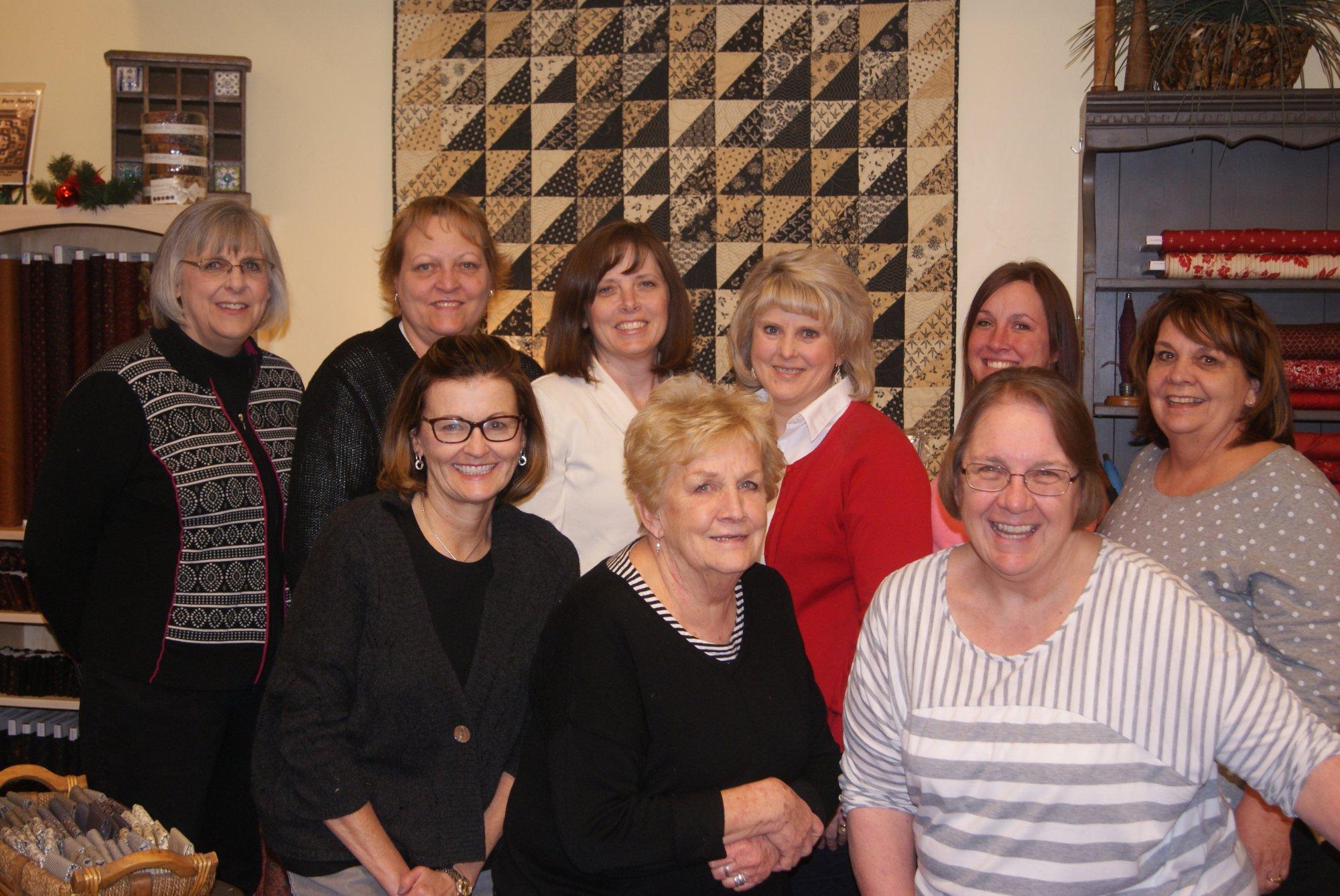 Jan, Carla, Julie, Linda, Chelcie, Gayle