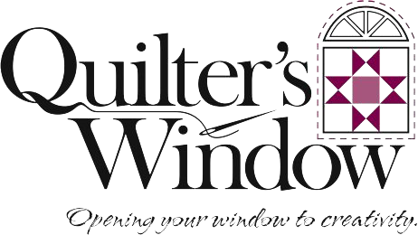 Quilter's Window with Logo