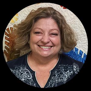 Staff member, Cindy Kalous