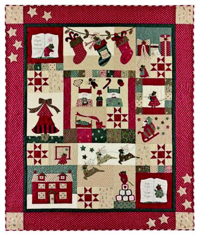 The Night Before Christmas Quilt Kit