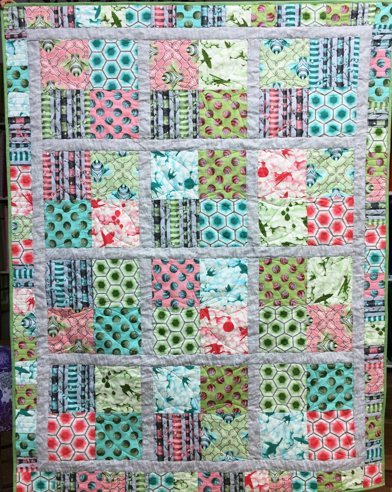 Bumble baby quilt kit - Quilt rits ...
