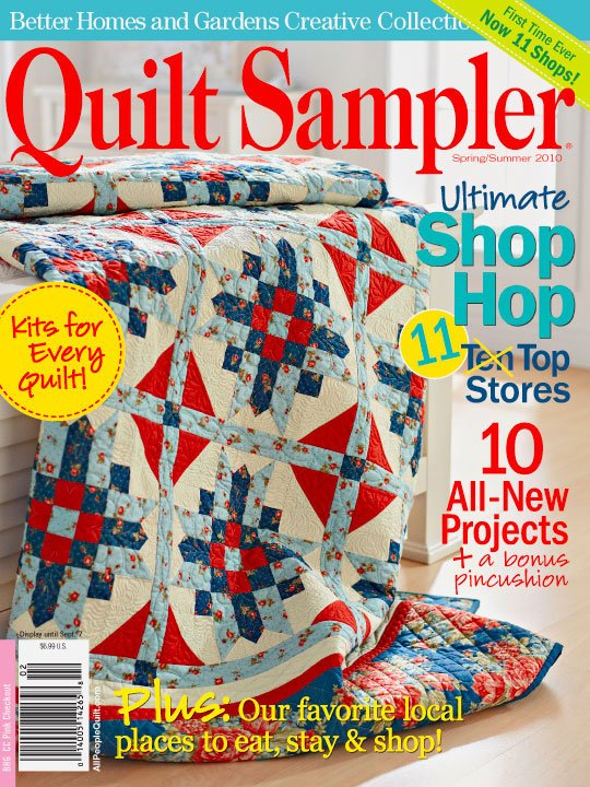 Better Homes And Gardens Creative Collection Quilt Sampler Magazine Spring Summer 2010