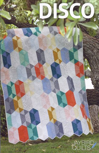 Disco Quilt Pattern from Jaybird Quilts