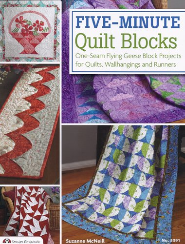 Five-Minute Quilt Blocks by Suzanne McNeill