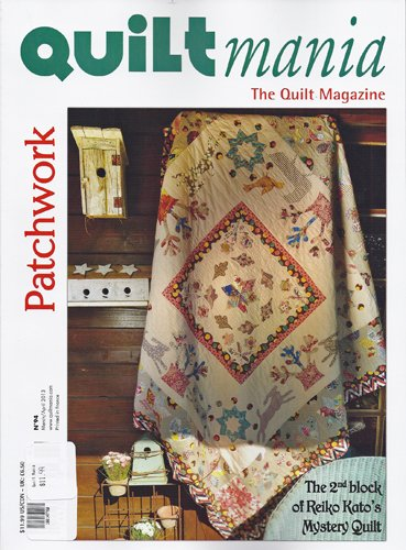 Quilt Mania Magazine No. 94 March/April 2013