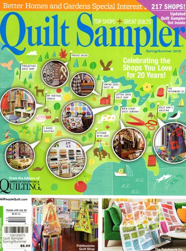 Better Homes Gardens Quilt Sampler Magazine Spring