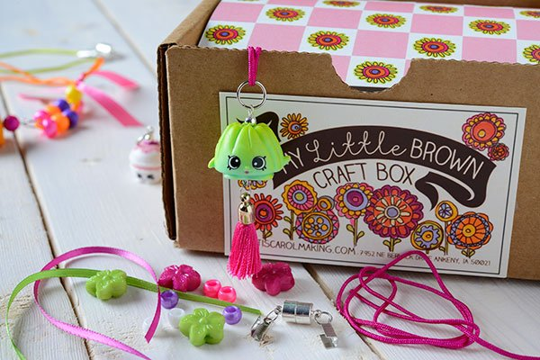 My Little Brown Craft Box