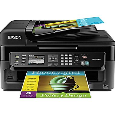 Epson® WorkForce® WF-2540 Color Inkjet All-in-One Printer