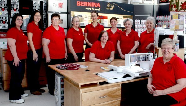 Appletree Quilting Center's Staff Picture