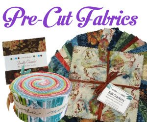 Shop for Pre-cut fabrics -Jelly rolls, charm packs, layer cakes, strips, bali pops, bali snaps