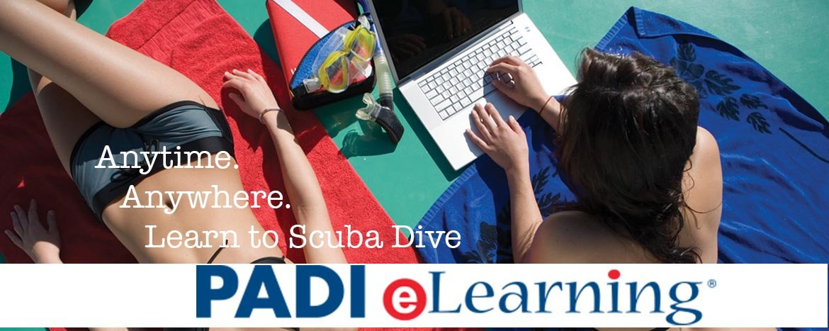 PADI eLearning with Oakville Divers