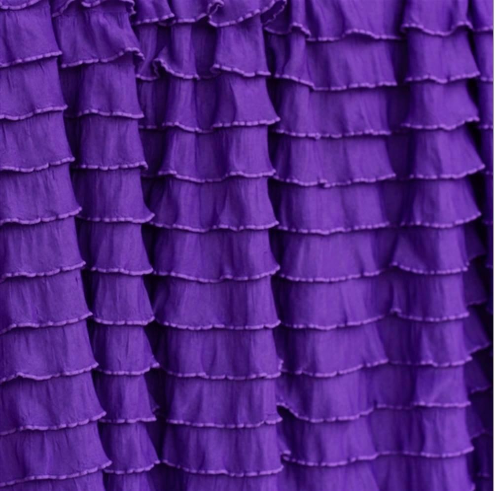 Blackout ruffle curtains 2