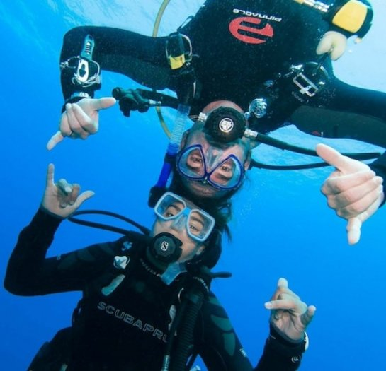 Learn to Scuba Dive Class in Kona Hawaii