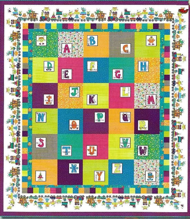 Alphabet Quilting Patterns : Pattern Download Page