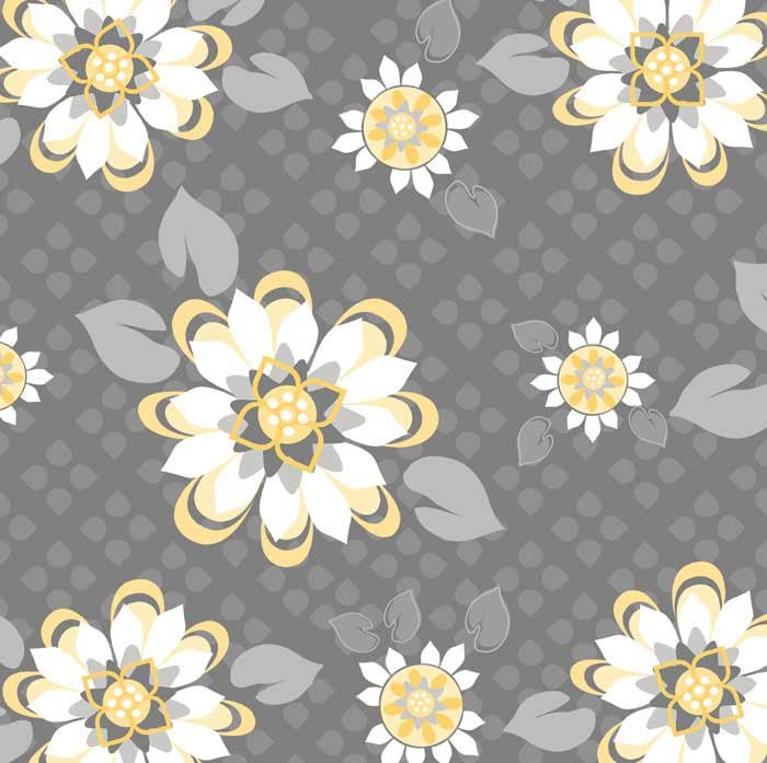 Adornit - Sunshine Blossoms Yellow T-00287