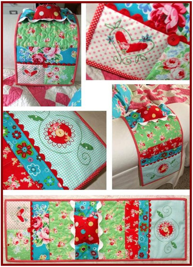 Sewing Things Armchair Caddy & Pin Cushion Pattern