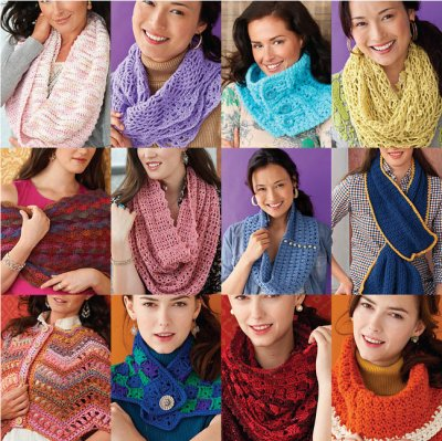12 cowls to crochet