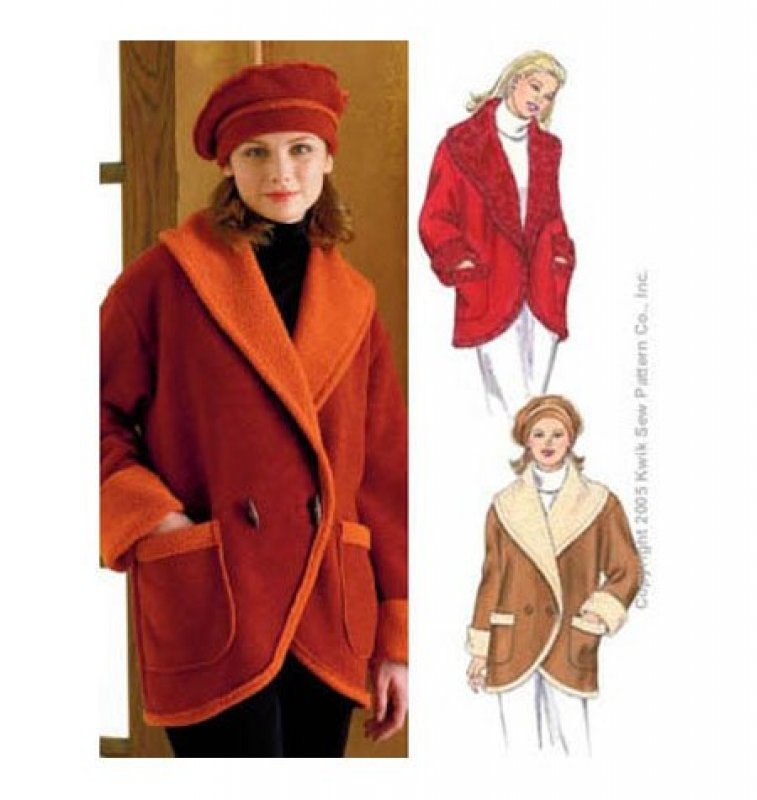 Kwik Sew - 3358 - Misses' Jacket and Hat