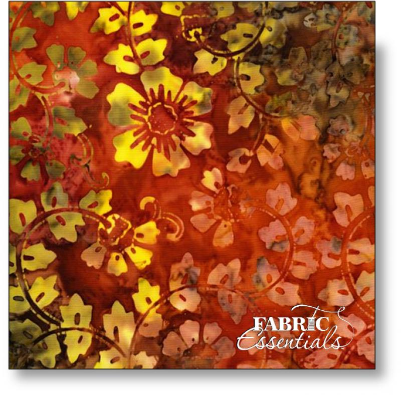 Timeless Treasures - Back to Nature - Tonga Batik - B6450-COPPER