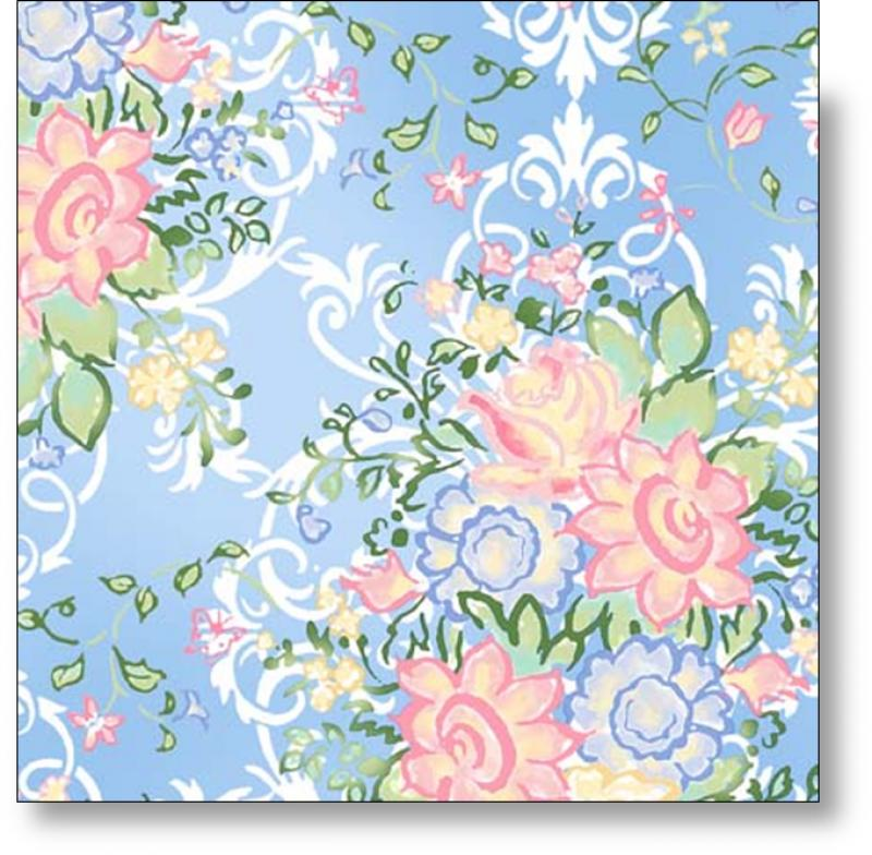 In The Beginning Fabrics - Annabelle - 1AB1 - Blue