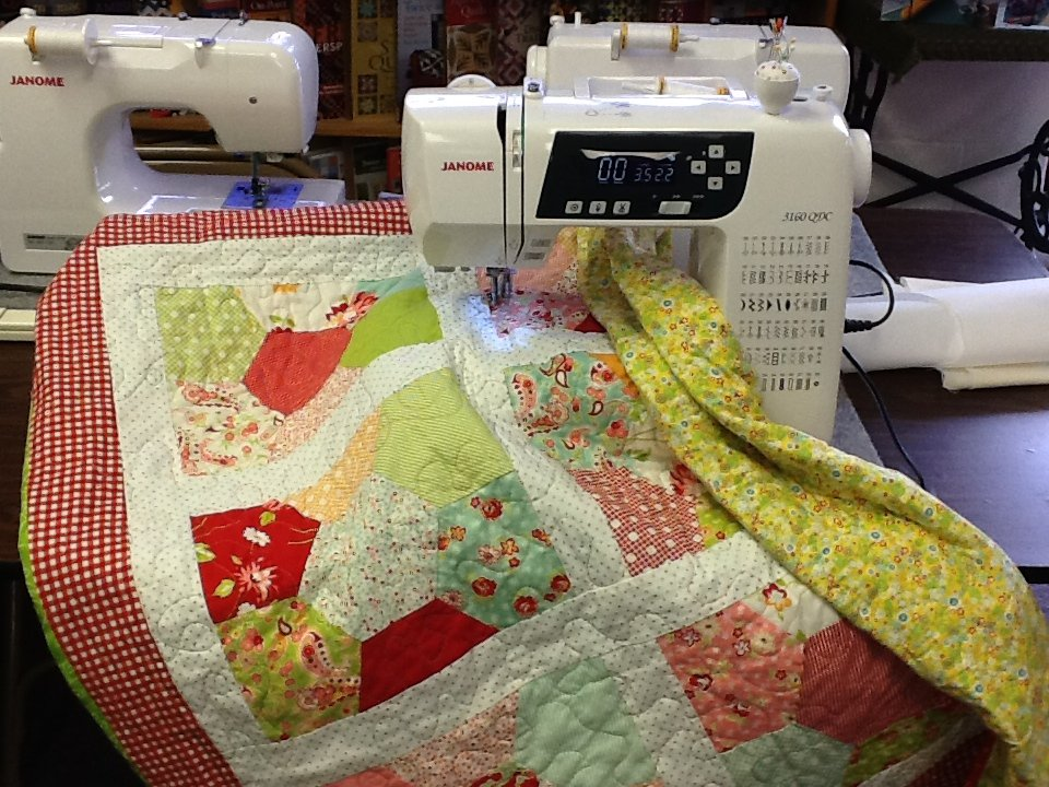 machine quilting for beginners