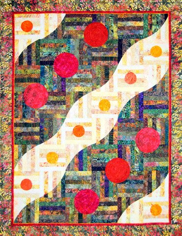 Stepping Stones by Happy Stash Quilts