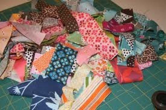 Что можно сделать с лоскутков ткани своими руками