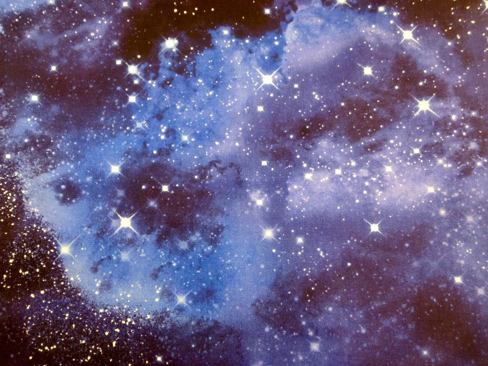 Galaxy star spectacular space odyssey asia harajuku club for Space flannel fabric