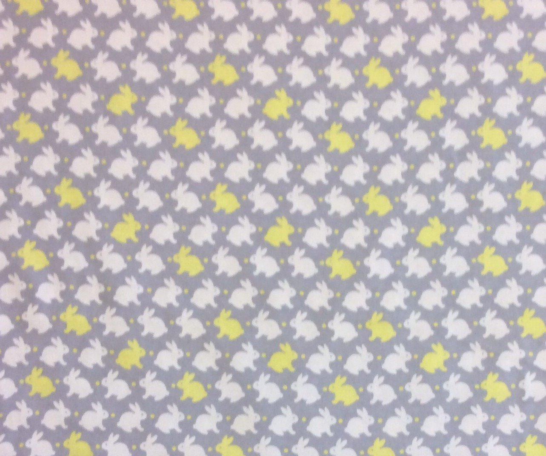 Dt09 bunny rabbit cute pajama children soft fluffy fashion for Cute childrens fabric