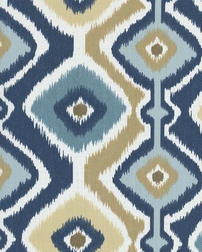 Ikat Tribal Famous Maker Printed Sun Safe Outdoor Fabric