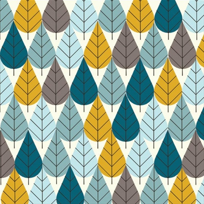 Charley Harper Octoberama Leaves Trees Mid Century Modern Charles