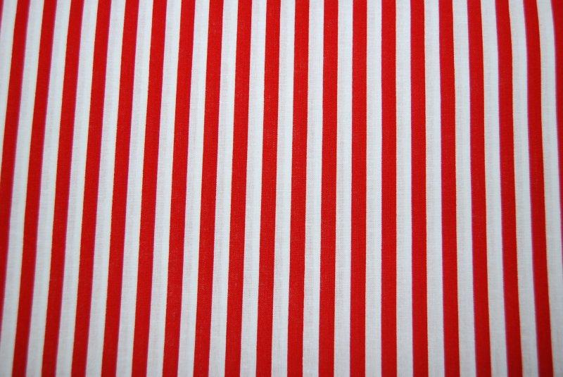 Stripe festival red and white stripe small cotton fabric quilting