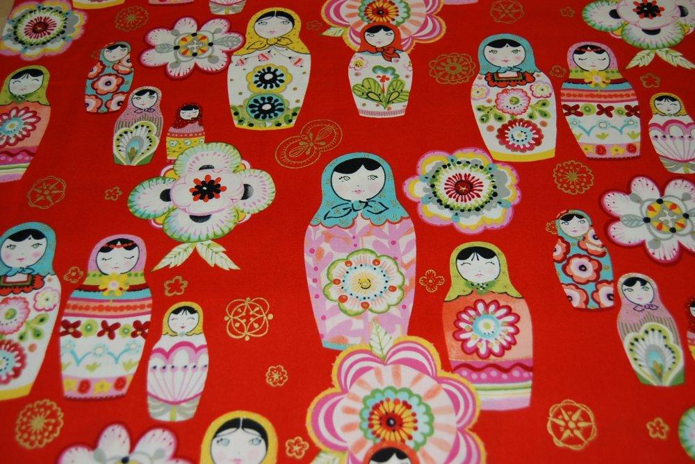russian nesting dolls matryoshka doll retro awesome cotton