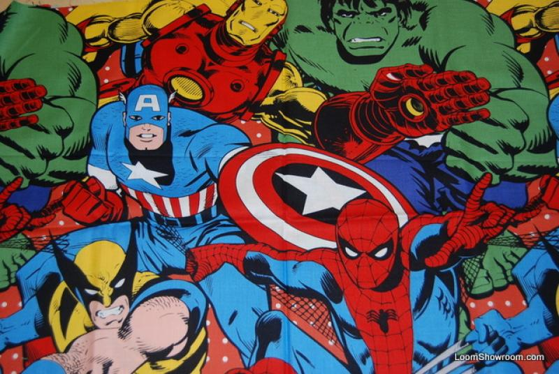 Marvel Comics Iron Man Captain America Hulk Thor Spider