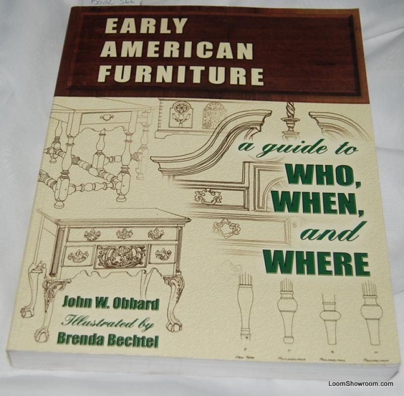 Book366 early american furniture by john w obbard antique for Furniture valuation guides