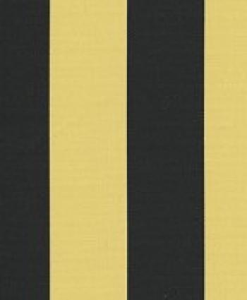 Sunshine S72 Black Gold Steeler Awning Stripe Sun Outdoor