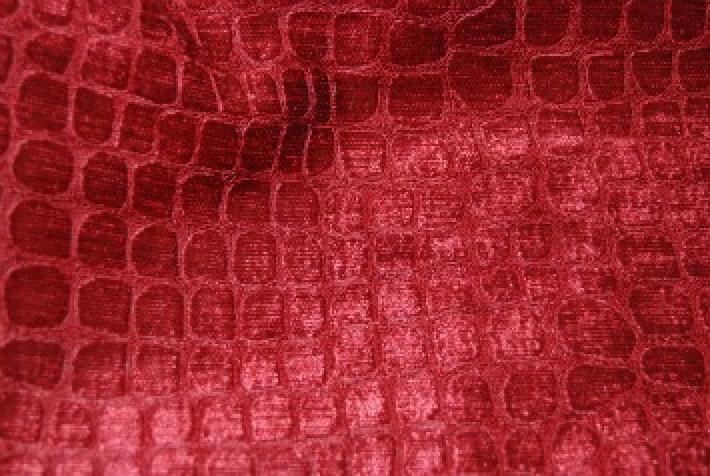 Velvet Crocodile Alligator Snake Skin Texture Velvet Heavy