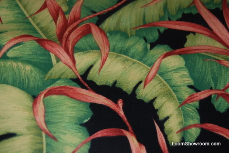 S308 robert allen banana leaf sunbrella outdoor fabric