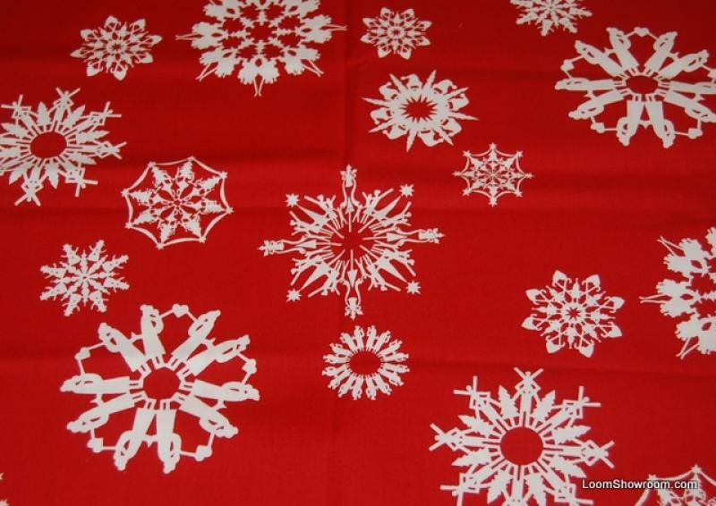 Christmas Bright White Snowflakes Hidden Picture Scene
